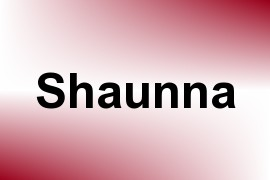 Shaunna name image
