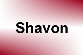 Shavon name image