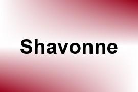 Shavonne name image
