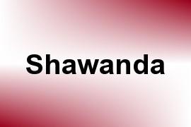 Shawanda name image