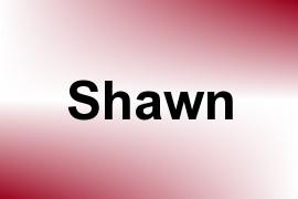 Shawn name image
