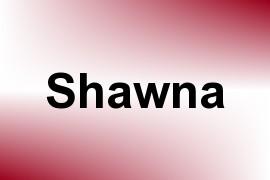 Shawna name image