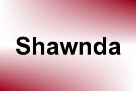 Shawnda name image