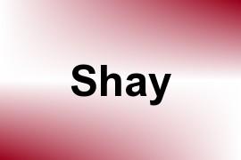 Shay name image