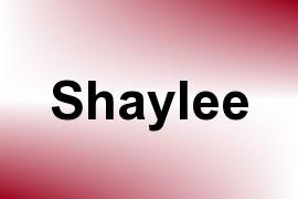 Shaylee name image