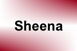 Sheena name image