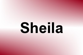 Sheila name image