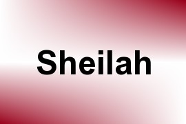 Sheilah name image