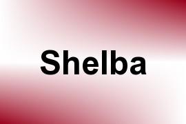 Shelba name image