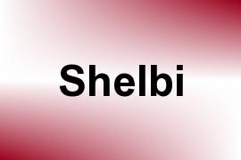 Shelbi name image