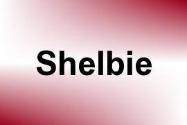 Shelbie name image