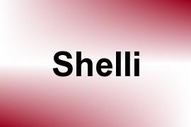 Shelli name image
