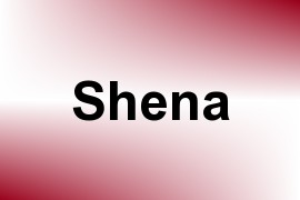 Shena name image