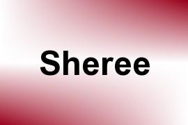 Sheree name image