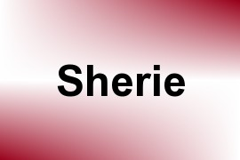 Sherie name image