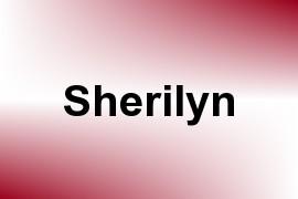 Sherilyn name image