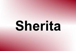 Sherita name image