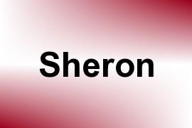 Sheron name image