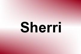Sherri name image