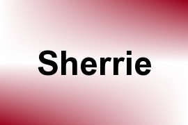 Sherrie name image