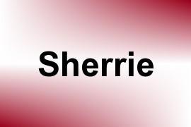 Sherrie name image