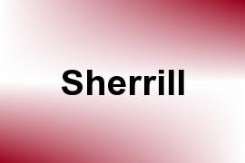 Sherrill name image