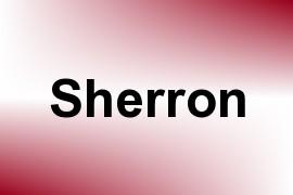 Sherron name image