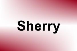 Sherry name image