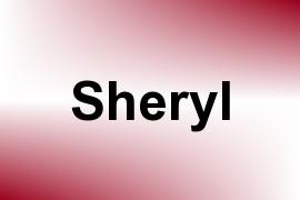 Sheryl name image