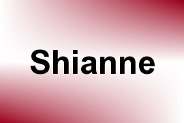 Shianne name image