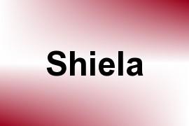 Shiela name image