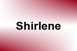 Shirlene name image