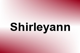 Shirleyann name image