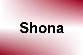 Shona name image
