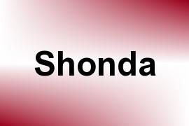 Shonda name image
