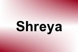 Shreya name image