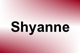 Shyanne name image