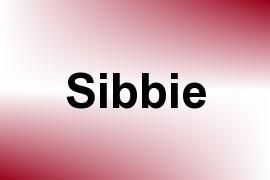 Sibbie name image