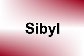 Sibyl name image