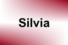 Silvia name image