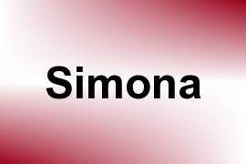 Simona name image