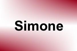 Simone name image