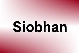 Siobhan name image