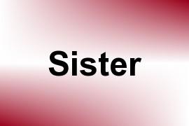 Sister name image