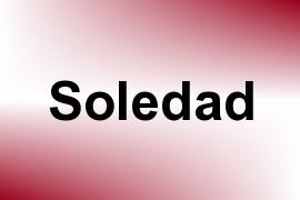 Soledad name image