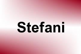 Stefani name image
