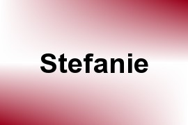 Stefanie name image