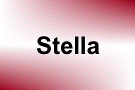 Stella name image
