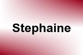 Stephaine name image