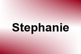 Stephanie name image